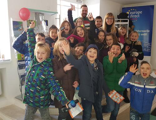 Osnovnoškolci u posjetu Urbanom centru